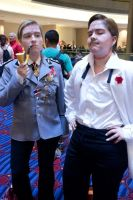 Basterds at the Con by Psycho7772