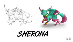 WOF Concept art - Sherona by Chaos--Child