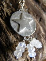 New Pentacle Necklace by MoonLitCreations
