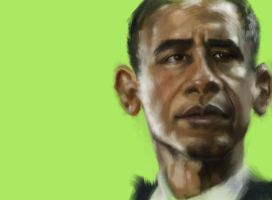 Barack Obama by DVLArt