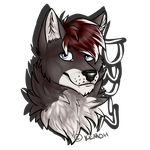 Luwyn Badge .:Gift:. by Kemoh-Wintertail
