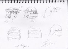 Drif Sallet Concepts by Driphtyr