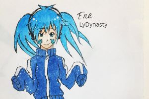 Mekakucity Actors: Ene by LyDynasty