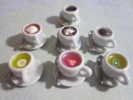 Tea cups by CandyChick