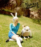 Fionna and Cake III - Adventure Time Cosplay by MyobiXHitachiin