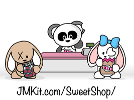 JMKit Make-A-Scene: Sweet Shop by JinxBunny