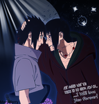 Naruto 590 Sasuke-Itachi by MaryMerry