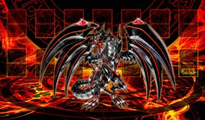 Red Eyes Darkness Metal Mat by GTAceofSpade