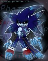 Phazon Corrupted Sonic the Werehog by StrobelightMaster