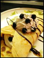 Crepe - Blueberries and Cream by sharpiefire