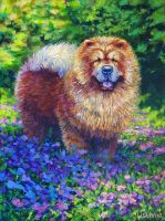 Chow Chow by blindedangel