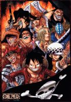 One Piece Supernovas 2Y by Gonzaloguay
