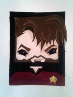 Commander Riker by Squaracters