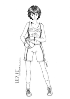 Basketball Jersey by kaisaki1342