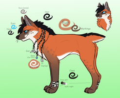 Commission - SaerFall - Sheet by xXAkilaXx