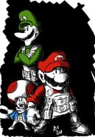 Mario Bros by Kmadden2004