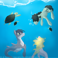 Under The Sea by WolfsKnight