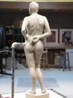Competition Sculpture - back 2 by AlfredParedes