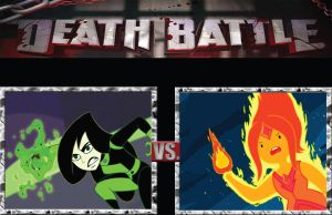 DB Shego vs. Flame Princess by BenjaminHopkins
