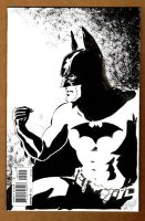 Batman Sketch Cover Back 1 by ChrisMcJunkin