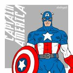 Captain America! by dudangelo