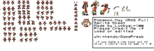 May ORAS Full Sprite Sheet by luckygirl88