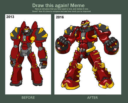 Draw This Again: Metarex Max 2013-2016 by CuteMax