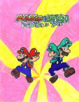 Mario and Luigi 2 by yanano