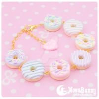 Sweet donuts Bracelet by CuteMoonbunny