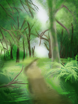 Forest Path by VelkynKarma