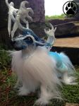 SOLD - Fuyu the winter caribou! by CreaturesofNat