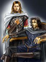 King and Steward by idolwild