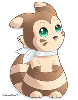 Commission: Furret by RainbowRose912