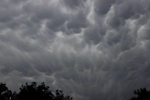Storm Clouds above my house by Spindl3-Wolf