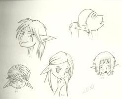 Sketch Dum 2010 II - Faces by Lulabys-Melody