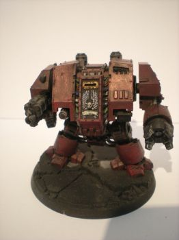 Blood Ravens Dreadnought by ORKSWAAAGH