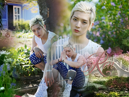 REn NU'EST for Ryo-chan by xSnookix