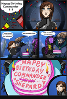 ME2: Happy B-Day Shepard by Padzi