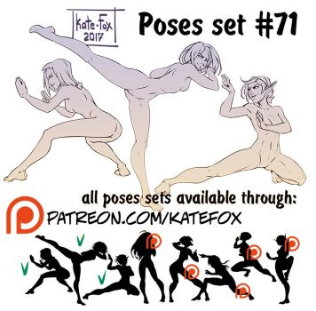 Pose study 71 by Kate-FoX