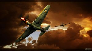 Bf-109 vs Kittyhawk by MotoTsume