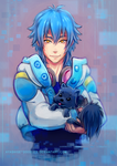 DMMD - Aoba and Ren by ayashige-doodles
