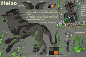 Heizo Ref sheet by Kaymaro