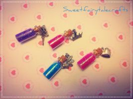 Bottle charms!!! by Sweetfairytalecrafts