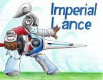 Imperial Lance by FightingPolygon