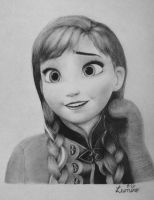 Anna - Frozen by KrizzLumino
