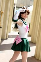 Sailor Jupiter at your service! by ElegantAura