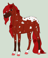 Pocketful of Roses Ref Sheet by FrozenHeartStables