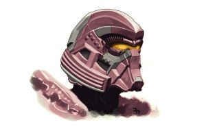 Halo Helmet Concept PGE by PennNorris