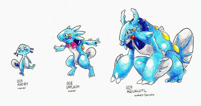 Fakedex 007 - 009 by roobosaur98