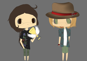 WIP - The Hatfield Brothers by ScytheSkull